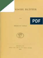 Diels Sibyllinische Blatter