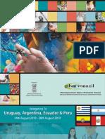 Brochure de la delegación de Pharmexcil a Guayaquil