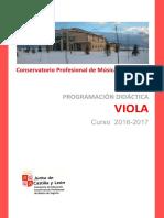 Programacion VIOLA 16-17 Segovia