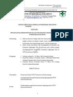 8532 Sk Penanggung Jawab Pengelolaan Keamanan Lingkungan Fisik Puskesmas