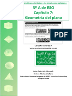 GeometriaPlano 3eso