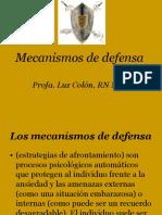Mecanismos de Defensa Imnaduros