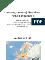 Algorithmic Thinking for Beginners