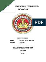 Sistem Demokrasi Terpimpin Di Indonesia