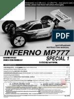 Kyosho Inferno Mp777 Sp1 Manual