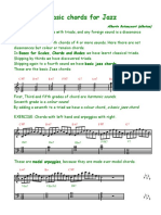 Basic Jazz Chords 1