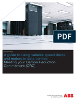 A Guide to Using Variable Speed Drives and Motors in Data Centers - Meeting Your Carbon