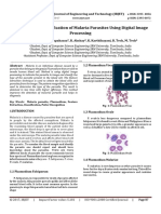 Detection and Classification of Malaria Parasites using Digital Image Processing