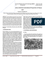 Textile Effluent Interaction with the Geotechnical Properties of Clayey Soil