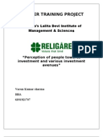 Religare Project