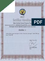 Sertifikat Akreditasi S2 ILKOM 17 Juni 2016 2021