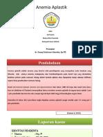 Case Report Anemia Aplastik