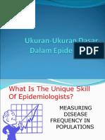 Ukuran Dasar Dalm Epidemiologi Plus Contoh