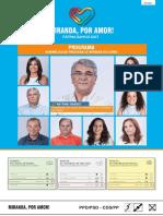 Programa Junta de Freguesia de Miranda do Corvo