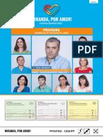 Programa eleitoral Assembleia de Freguesia de Lamas