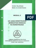 Modul 2. UU Jasa Konstruksi Berkaitan Dengan K3 Konstruksi.pdf