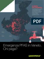 """""""Emergenza Pfas in Veneto, chi inquina paga?"""