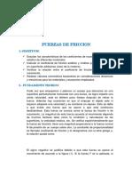Fuerzas de Friccion Laboratorio de Fisica 03