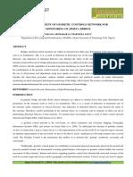 6.Format.eng-Establishment of Geodetic Controls Network for Monitoring of Jimeta Bridge (2) (Reviewed)