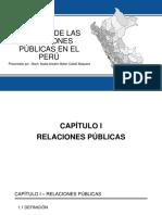 Historia de Las Relaciones Públicas en El Perú