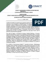 Convocatoria Estancias Posdoc Nacionales CONACYT-SENER-Sustentabilidad