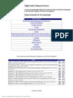 ICAO - Human Factors
