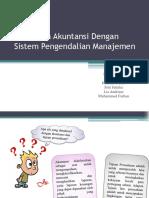 Hubungan Akuntansi Dengan Sistem Pengendalian Manajemen PPT