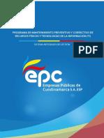 Programa de Mantenimiento Preventivo o Correctivo de Recursos Fisicos y TI (1)