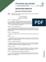 Reglamento de las Cortes de Aragón (2017)