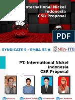 CSR PT. Inco