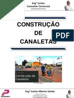 Construção de Canaletas