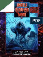 WOD - Werewolf - The Apocalypse - Under a Blood Red Moon