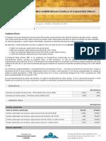 RI Bolsa Família e Cadastro Único Julho 2017