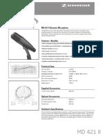 MD421II_ProductSheet