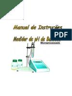 Manual PHmetro de Bancada