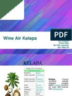 Wine Air Kelapa