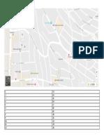 Mapa - Indique o Caminho (Imprimir 15 Cópias)