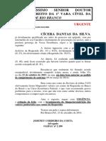 Petição - Desbloqueio - Cicera - 1 VC