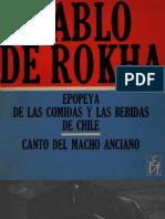 Epopeya de las comidas y las bebidas de Chile - Canto del Macho Anciano
