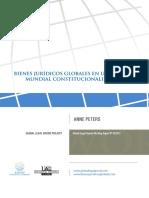 Bienes Juridicos Globales en Un Orden Constitucionalizado