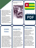 Triptico Sobre Togo