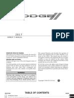 Dodge Journey 2017 - Owner's Manual