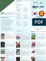 KACW 2017 Schedule & Brochure