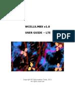 WCells, User Guide v1.0L - RFOPT