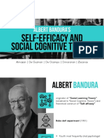 Self Efficacy and Social Cognitive Theory
