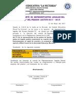 Acta Del Comité de Representantes Legales Del Noveno