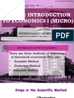 Methodology of Microeconomics (New)
