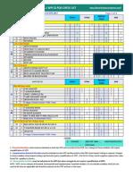 Wps & Pqr Check List 2017 Asme IX Aws D1.1 Table