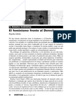 Feminismo y Derecho Begon a Zabala 0