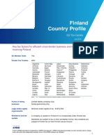 Country Profile Finland 2015